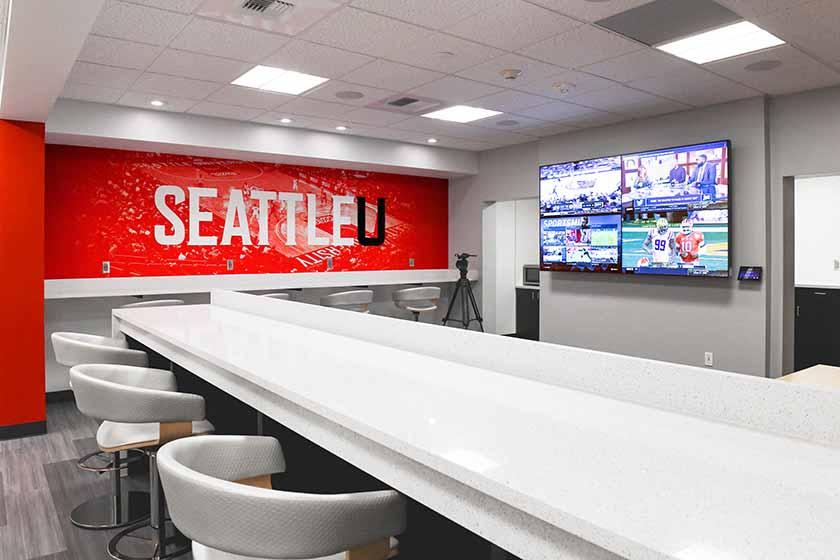 Seattle U Men's Basketball Office Remodel - Jan. 10, 2020